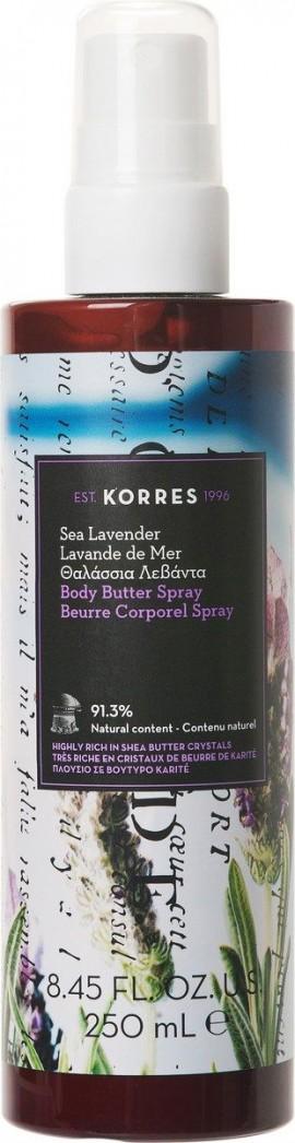 Korres Body Butter Spray Θαλάσσια Λεβάντα, 250ml
