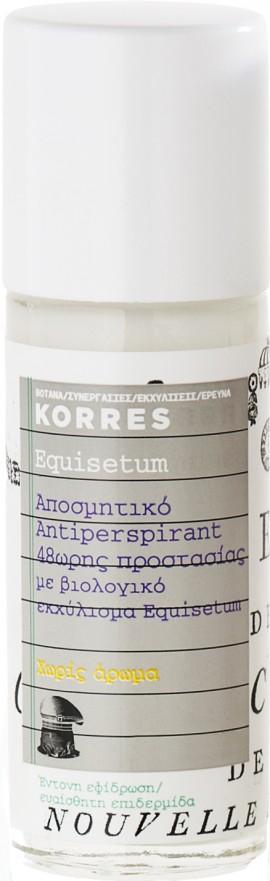Korres Equisetum 48ωρη Προστασία Xωρίς Άρωμα, 30ml
