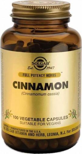 Solgar Cinnamon 200mg ,100 φυτικές κάψουλες