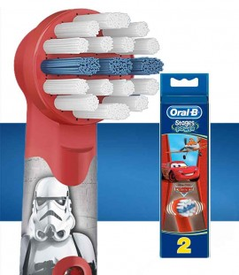 Oral-B Stages Power Cars, 2 Τεμάχια
