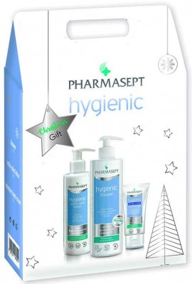 Pharmasept Christmas Gift  Tol Velvet Hygienic Shower 500ml & Tol Velvet Hygienic Extra Calm Lotion 250ml)& Intensive Hand Cream 75ml