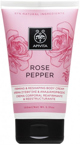 Apivita Rose Pepper Firming & Reshaping Cream, 150ml