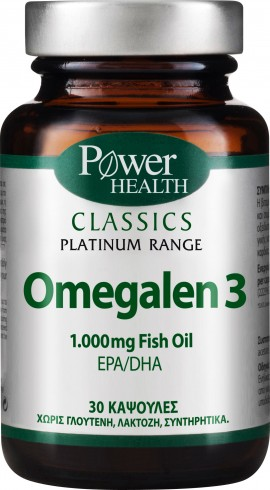 Power Health Omega3 1.000mg, 30 Κάψουλες