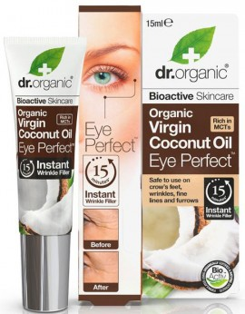 Dr. Organic Coconut Oil Eye Perfect, 15ml