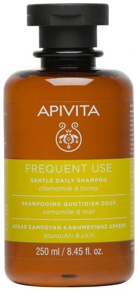 Αpivita Gentle Daily Σαμπουάν Με Χαμομήλι & Μέλι, 250ml