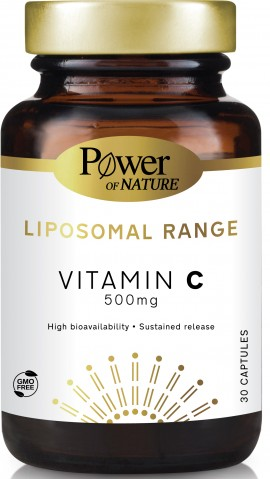 Power Health Liposomal Range Vitamin C 500mg, 30 Κάψουλες