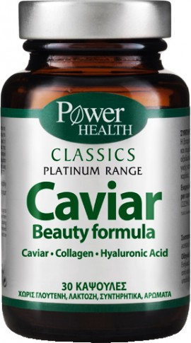 Power Health Platinum Caviar, 30 Κάψουλες