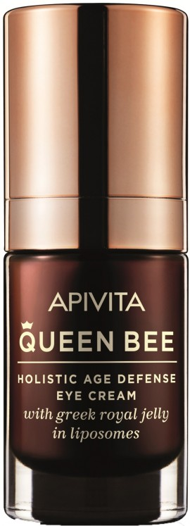 Apivita Queen Bee Κρέμα Ματιών Με Βασιλικό Πολτό,15ml