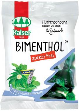 Kaiser Καραμέλες Bimethol Μέντα & Ευκάλυπτο, 60gr