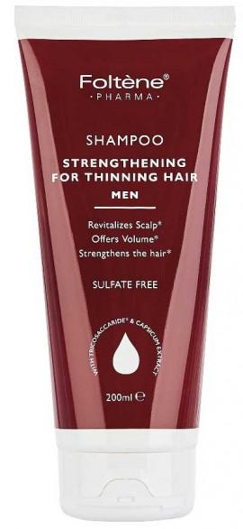 Foltene Shampoo Strengthening For Thinning Hair Men, 200ml