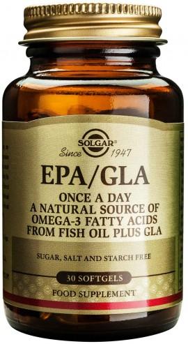 Solgar EPA/ GLA, 30 Καψούλες