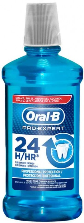 Oral- B Pro Expert 24hr Prosfessional Protection, 500ml