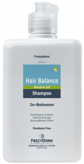 Frezyderm  Hair Balance Shampoo, 200ml