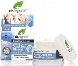 Dr. Organic Dead Sea Mineral Night Cream, 50ml