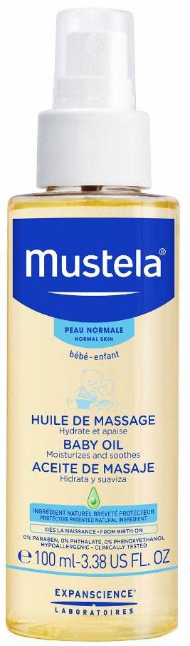 Mustela Baby Oil, 100ml