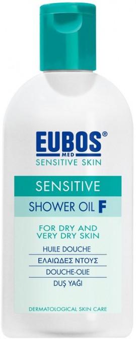 Eubos Sensitive Shower Oil F, 200ml