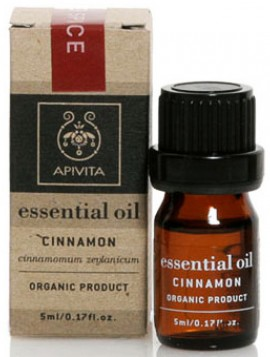Apivita Essential Oil Κανέλα, 10ml