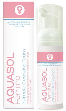 Aquasol Femina Intimate Cleansing Foam, 40ml
