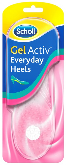 Scholl Gel Activ Every Day Heels, 1 Ζευγαρί (Nο.35- 40,5)