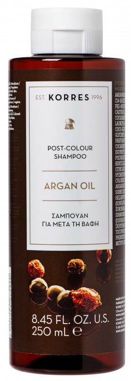Korres Post-Colour Σαμπουάν Argan Oil, 250ml