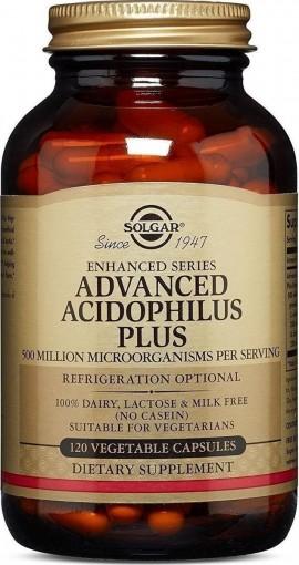 Solgar Advanced Acidophilus Plus, 120 Κάψουλες
