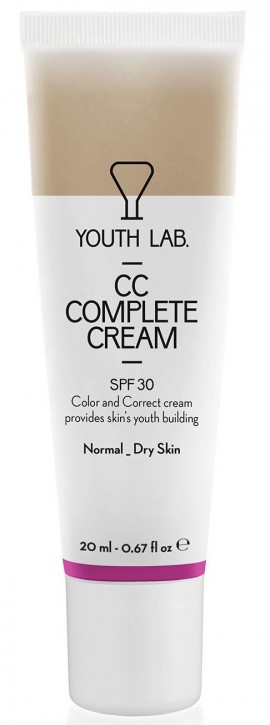 Youth Lab Youth CC Complete Cream Spf 30 Normal - Dry Skin, 20ml