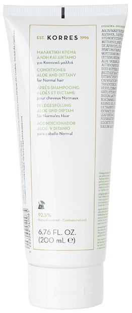 Korres Conditioner Αλόη & Δίκταμο, 200ml