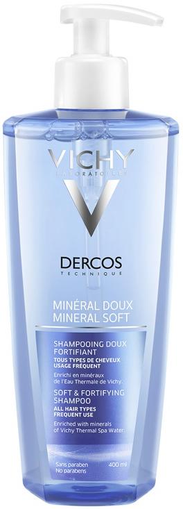 Vichy Dercos Mineral Suave, 400ml