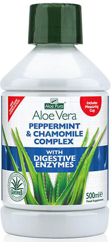 Optima Aloe Pura Juice Digestive Aid, 500ml