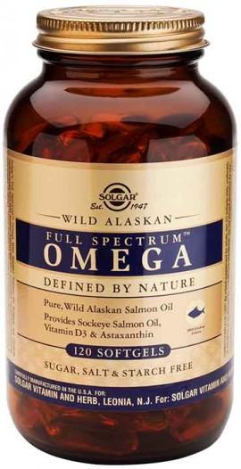 Solgar Wild Alaskan Full Spectum Omega™, 120 Κάψουλες