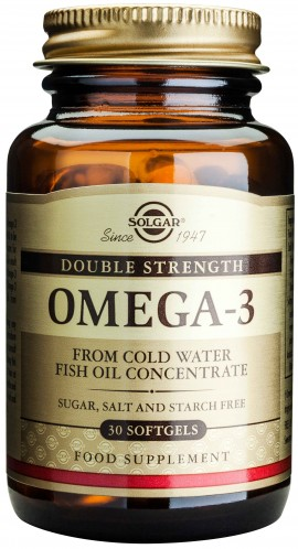 Solgar Double Strength Omega-3 700mg, 30 Κάψουλες