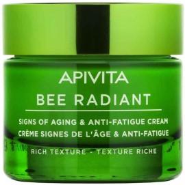 Apivita  Bee Radiant  Κρέμα Πλούσιας Υφής, 30ml