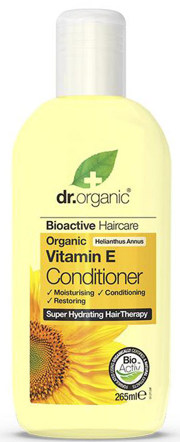 Dr. Organic Vitamin E Conditioner, 265ml