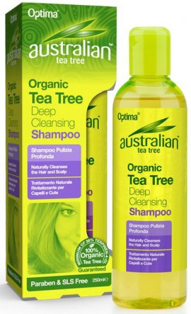 Optima Austalian Tea Tree Deep Cleansing Shampoo, 250ml