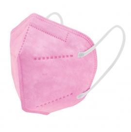 Μάσκα Υψηλής Προστασίας FFP2 Παιδικές Ροζ ,1 Tεμάχιο