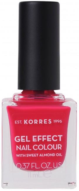 Korres Gel Effect Nail Color 22 Juicy Fuchsia, 11ml
