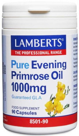 Lamberts Evening Primrose Oil with Starflower Oil 1000mg, 90 κάψουλες