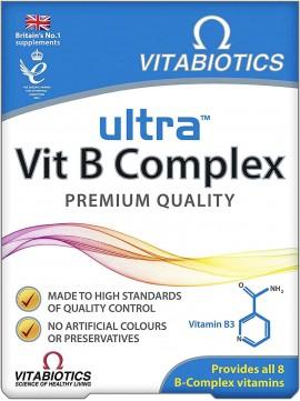 Vitabiotics Ultra Vit B Complex, 60 Tαμπλέτες