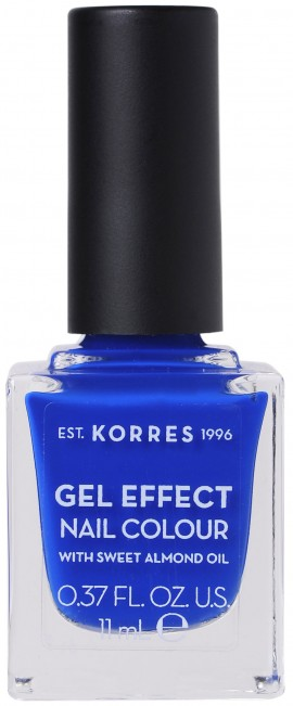 Korres Gel Effect Nail Color 86 Ocean Blue, 11ml