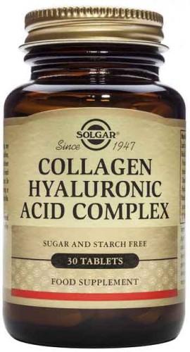 Solgar Hyaluronic Acid Complex, 30 Ταμπλέτες