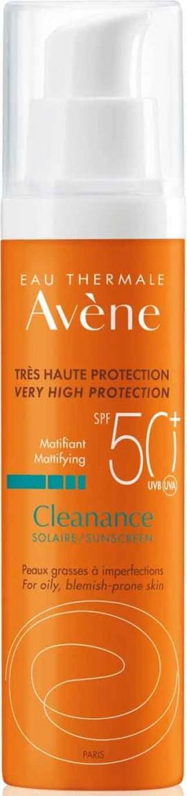 Avene Cleanance Solaire SPF50+, 50ml