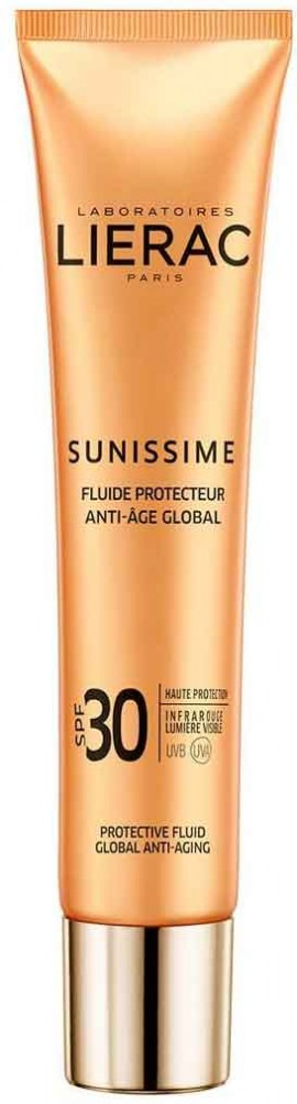 Lierac Sunissime BB Dore Fluide Protecteur Anti-Age Global SPF30, 40ml