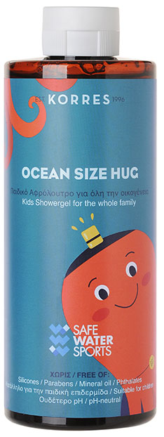 Korres Ocean Size Hug Kids Shower Gel, 400ml