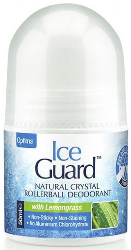 Optima Ice Guard Roll On Με Άρωμα Λεμονόχορτο, 50ml