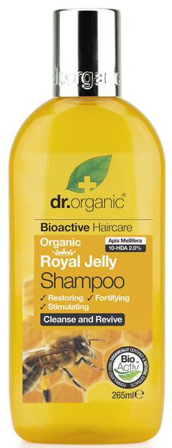 Dr. Organic Royal Jelly Shampoo, 265ml
