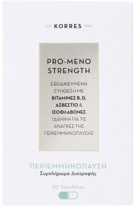 Korres Pro- Meno Strength, 30 Ταμπλέτες