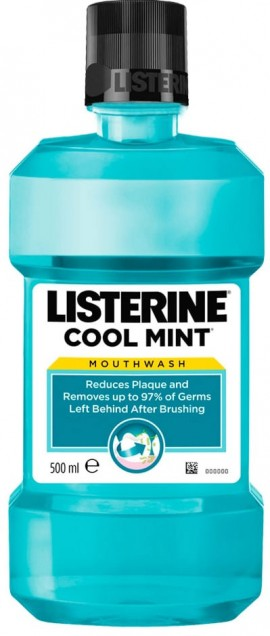 Listerine Cool Mint, 500ml