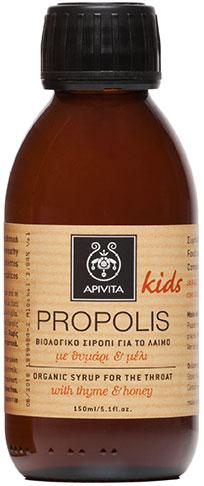 Apivita Propolis Kids Παιδικό Σιρόπι Με Μέλι & Θυμάρι,150ml