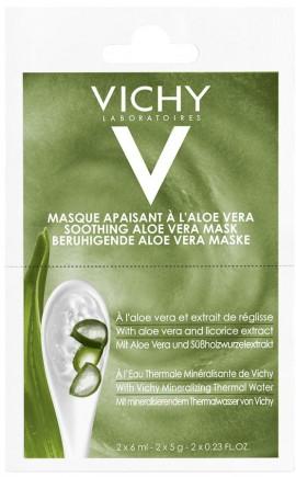 Vichy Μάσκα Με Αλόη, 2x 6ml