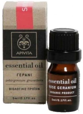 Apivita Essential Oil Γεράνι, 5ml